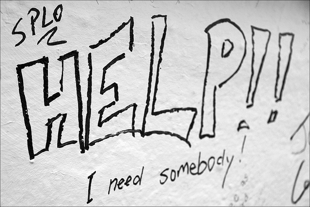 Help! I need somebody!?